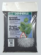 Dennerle Crystal Quartz Gravel Diamond Black 5 кг